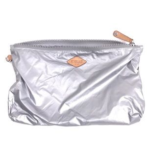 MZ WALLACE Zipper Pouch Travel Case Makeup Bag Tin